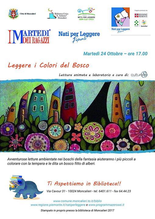 Leggere i Colori del Bosco
