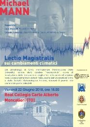 Lectio Magistralis sui cambiamenti climatici
