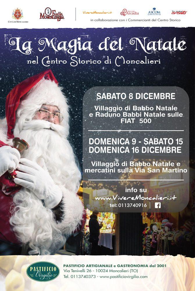 La Magia del Natale in centro storico a Moncalieri - Mercatini di natale in via San Martino