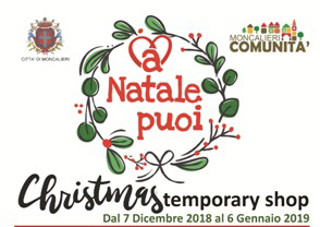 A natale puoi - Christmas Temporary Shop