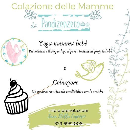 Colazione E Yoga Mamma Bebè