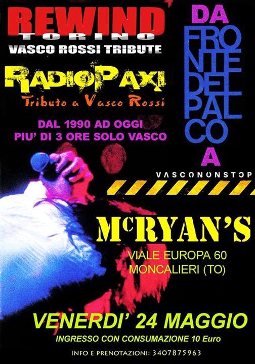 Rewind + Radiopaxi: Da Fronte del Palco a Vasco non Stop Live