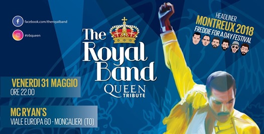The Royal Band live