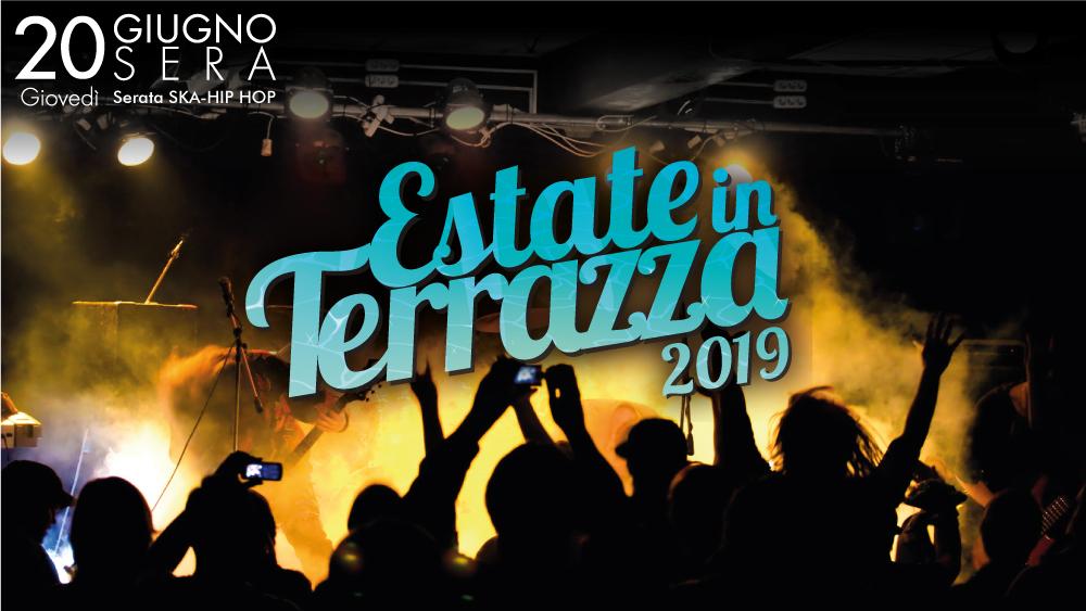 Giovedì 20 giugno 1a serata di Estate in terrazza 2019. Dj Set, Esibizioni e CONCERTO dei Capatost - Caparezza Tribute Band(SERATA RAP/HIP-HOP)- Ingresso gratuito