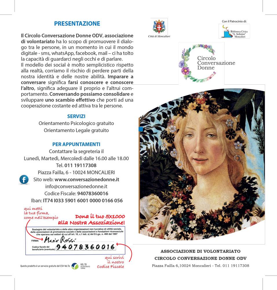 CONNESSIONI - CIRCOLO CONVERSAZIONE DONNE