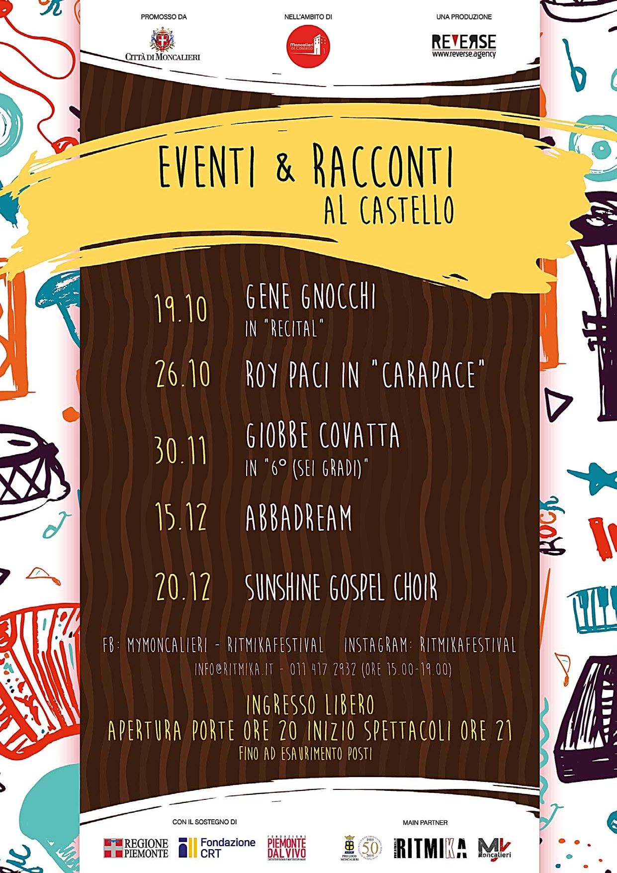EVENTI & RACCONTI AL CASTELLO - Abbadream