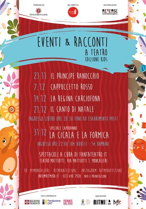 EVENTI & RACCONTI AL TEATRO ED. KIDS - Il Principe Ranocchio