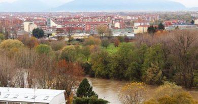 Finita l'allerta meteo anche a Moncalieri: diminuito anche il livello del Po