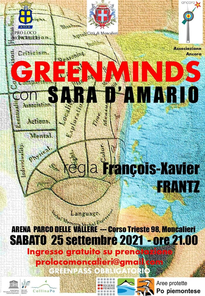 GREEN MINDS - ONE WOMAN SHOW